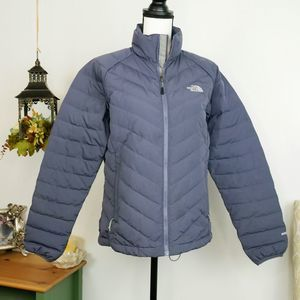 The North Face 550 Zip-Up Winter Ski Puffer Jacket